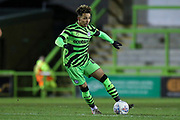 Forest Green Rovers Odin Bailey(42), on loan from Birmingham City during the EFL Sky Bet League 2 match between Forest Green Rovers and Carlisle United at the New Lawn, Forest Green, United Kingdom on 28 January 2020.