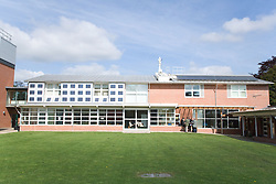 Façade of the Marmont Centre for Renewable Energy at Nottingham University,