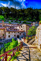 """Convent of Cells - Founded by St. Francis - Cortona""…<br />