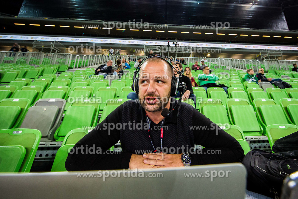 Dani Bavec during basketball match between KK Petrol Olimpija Ljubljana and Umana Reyer Venezia (ITA) in Round #5 of FIBA Basketball Champions League 2017/18, on November 7, 2017 in Arena Stozice, Ljubljana, Slovenia. Photo by Vid Ponikvar / Sportida