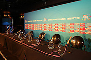 GV of the set up during the official launch press conference and party for the Airtel Champions League T20 tournament (being held in South Africa in September 2010) held at Taboo nightclub in Sandton, Johannesburg on the 10 August 2010..Photo by..CLT20 / SPORTZPICS
