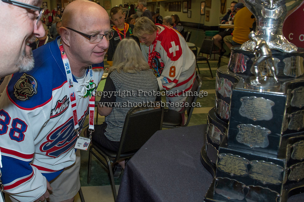 REGINA, SK - MAY 20: The WaWa Shriners host the CHL fan breakfast featuring some of the most loyal CHL fans in support of KidSport at the Wa Wa Shrine Centre on May 20, 2018 in Regina, Canada. (Photo by Marissa Baecker/CHL Images)