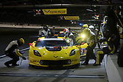 January 24-28, 2018. IMSA Weathertech Series ROLEX Daytona 24. 3 Corvette Racing, Corvette C7.R, Jan Magnussen, Antonio Garcia, Mike Rockenfeller