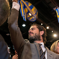 Prince Carl Philip of Sweden visits Lyon