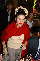 VIVIENNE VENTURA mother of Mrs Zac Goldsmith at a pre-screening party of a film by Fiona Sanderson entitled 'The Hunt For Lord Lucan' held at Langans, 254 Old Brompton Road, London SW7 on 8th November 2004.<br /><br />NON EXCLUSIVE - WORLD RIGHTS