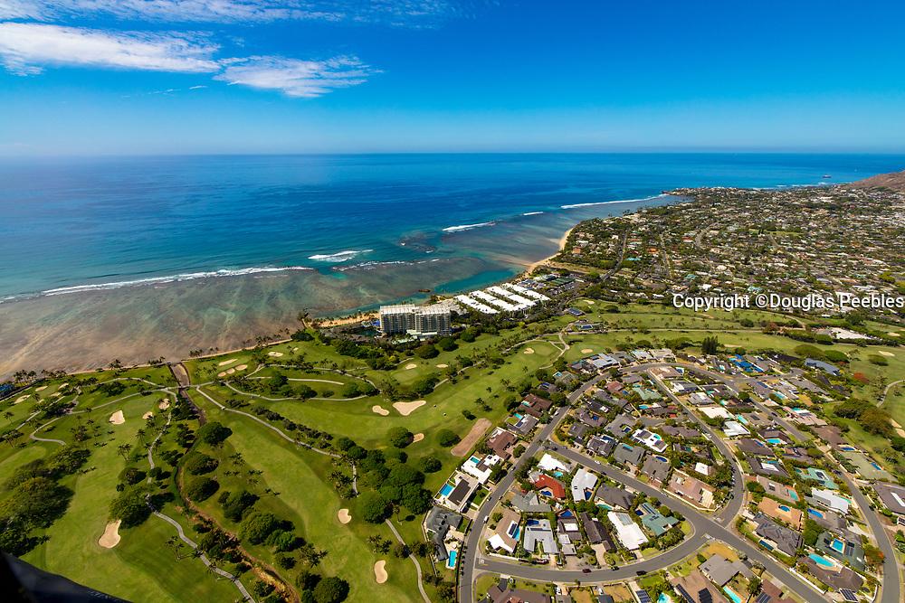 Waialae Golf Course, Kahala, Honolulu, Oahu, Hawaii