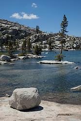 """Lake Aloha 2"" - Photograph of Lake Aloha in the Tahoe Desolation Wilderness."