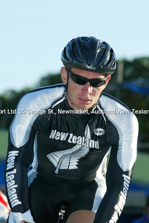 5 March 2004, Cycling New Zealand Track Nationals, Manukau Velodrome, Auckland, New Zealand.<br />