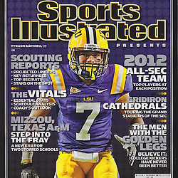 Sports Illustrated SEC Preview Cover - Tyrann Mathieu