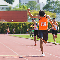 B Div Boys 200m