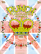 Punch Coronation Number front cover - 18th May 1953