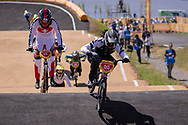 2018 Youth Olympic Games<br /> Buenos Aires, Argentina<br /> Mixed BMX - Race<br /> Motos<br /> SMITH Jessie (NZL)<br /> CLAESSENS Zoe (SUI)