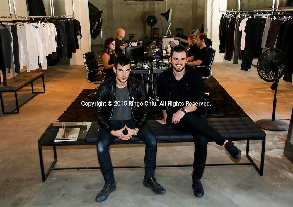 DSTLD founders Corey Epstein, left, and Mark Lynn.<br /> (Photo by Ringo Chiu/PHOTOFORMULA.com)