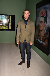 Tim Vincent at a preview of the 'From Selfie To Self-Expression' exhibition at The Saatchi Gallery, Duke Of York's HQ, King's Road, London, England. 30 March 2017.