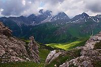 view from Augstenberg, Liechtenstein