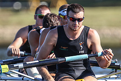 Australian Rowing Olympic Trials, March 2012, Sydney International Rowing Centre - Mens Coxless Four - Josh Dunkley-Smith