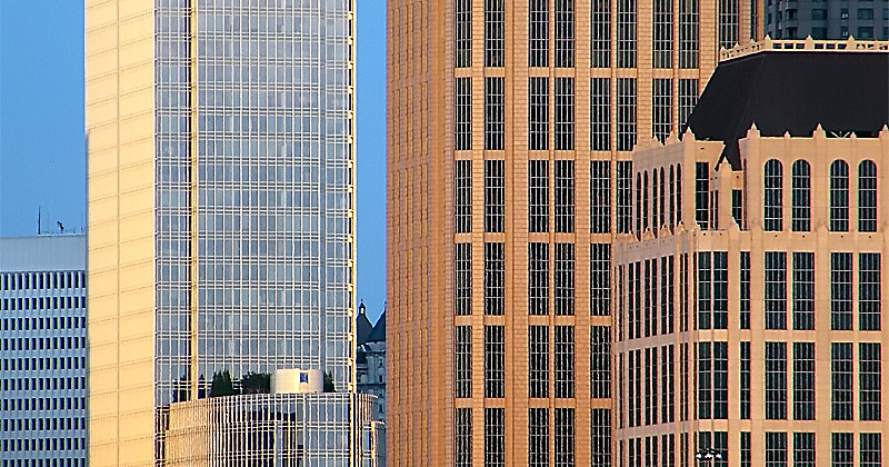 Midtown Atlanta buildings