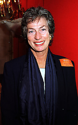 Tennis player MISS VIRGINIA WADE, at a luncheon in London on 11th October 1999.MXJ 40