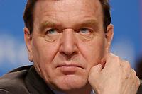 """10 MAR 2002, MAGDEBURG/GERMANY:<br /> Gerhard Schroeder, SPD, Bundeskanzler, gemeinsamer Parteitag der ostdeutschen SPD Landesverbaende unter dem Motto:""""Richtung Zukunft. Politik fuer Ostdeutschland."""", Hotel Maritim<br /> IMAGE: 20020310-01-083<br /> KEYWORDS: Party congress, Gerhard Schröder"""
