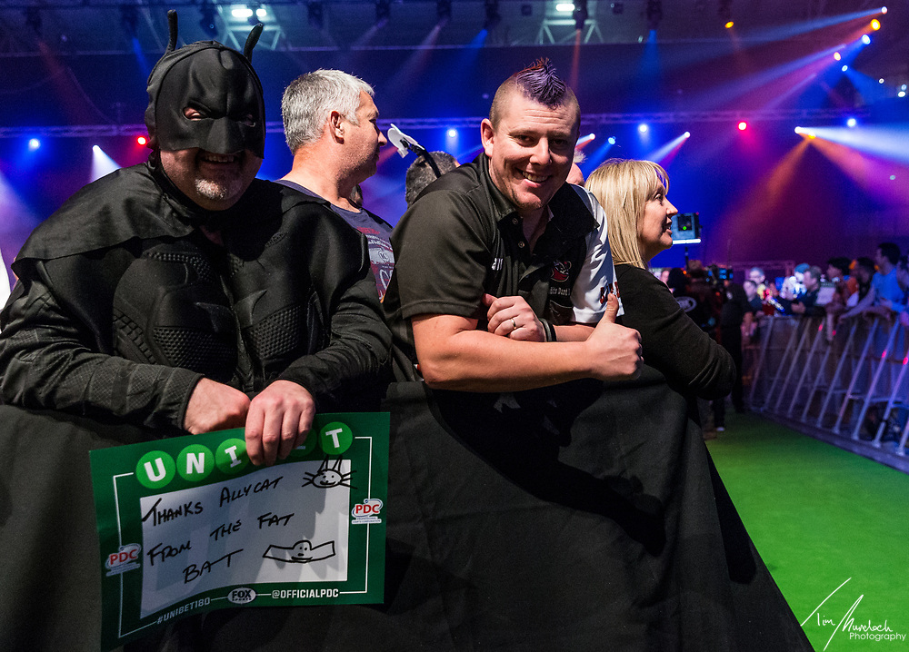 MELBOURNE, Australia - Sunday 20 August 2017:  The crowd during the semi finals of the Unibet Melbourne Dart Masters at Hisense Arena on Sunday 20 August 2017.<br /> <br /> Photo Credit: Tim Murdoch/Tim Murdoch Photography