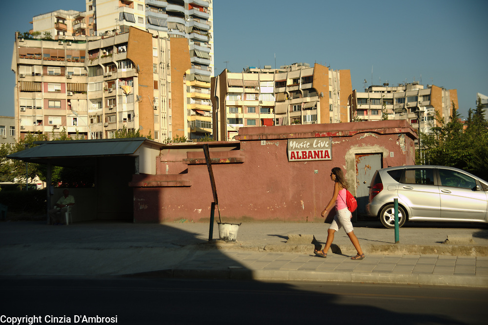 Tirana, Albania.
