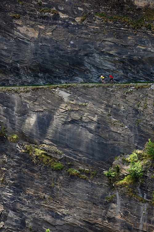 Riders: Damian Perri, Martin Gerber  Location: Visp (Switzerland)