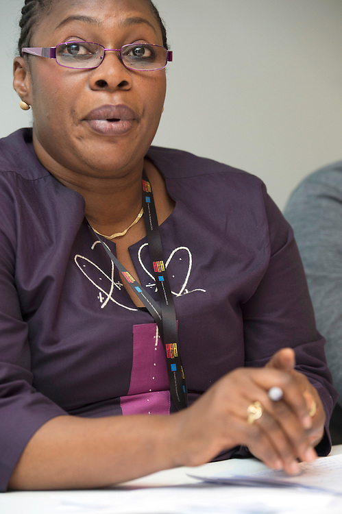 03 June 2015 - Belgium - Brussels - European Development Days - EDD - Jobs - Research for change - New knowledge for poverty eradication - Fatou Cisse , Chief Executive of CRES and leads the Department of Economics of Human Resources © European Union