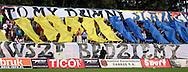 n/z.: Kibice Odry Wodzislaw podczas meczu ligowego Odra Wodzislaw - Zaglebie Sosnowiec , I liga 02 kolejka sezon 2007/2008, Orange Ekstraklasa , pilka nozna , Polska , Wodzislaw , 04-08-2007 , fot.: Darek Hermiersz / mediasport....Odra's supporters during soccer first division league match between Odra Wodzislaw - Zaglebie Sosnowiec in Wodzislaw, Poland. August 04, 2007 ; 02 round season 2007/2008 , football , Poland , Wodzislaw ( Photo by Darek Hermiersz / mediasport )