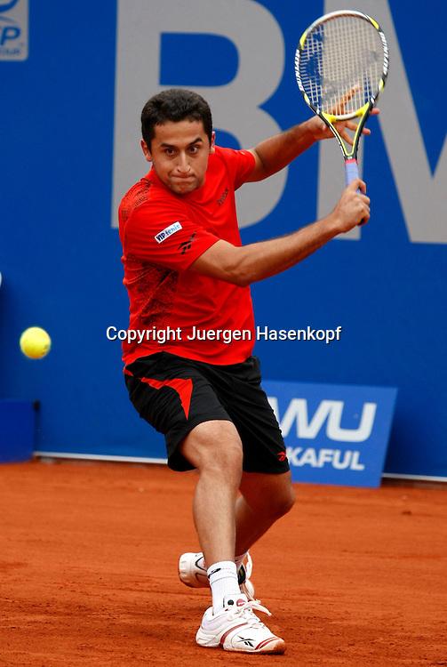 BMW Open 2010, Muenchen, Sport, Tennis,  International Series ATP  Tournament,  Nicolas Almagro (ESP)..Foto: Juergen Hasenkopf