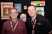 Allan Innes, Glenn Buxton. Independent Grocers Festival of Food at the Convention Centre.