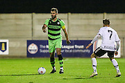 Forest Green Rovers Aarran Racine(21) on the ball during the Friendly match between Weston Super Mare and Forest Green Rovers at the Woodspring Stadium, Weston Super Mare, United Kingdom on 11 October 2016. Photo by Shane Healey.