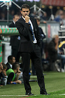 """Andrea Stramaccioni Inter<br /> Milano 07/10/2012 Stadio """"San Siro""""<br /> Football Calcio Serie A 2012/13<br /> Milan v Inter<br /> Foto Insidefoto Paolo Nucci"""