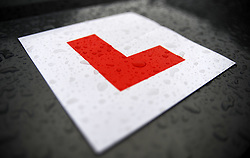 Embargoed to 0001 Tuesday June 27 File photo dated 28/07/09 of an L plate on a car. A third of motorists do not believe upcoming changes to the driving test go far enough to tackle dangerous habits.