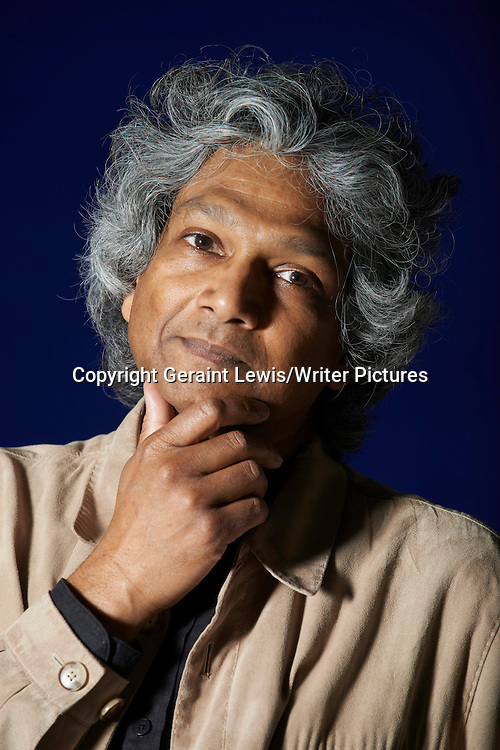 Romesh Guneskera, Sri Lankan writer of The Prisoner of Paradise. Pictured at the Edinburgh International Book Festival. Taken 17th August 2012<br /> <br /> Credit Geraint Lewis/Writer Pictures