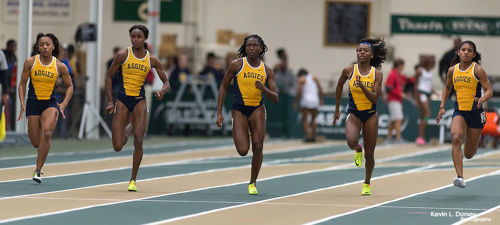2016-17 A&T Indoor Track and Field at UNCG Meet