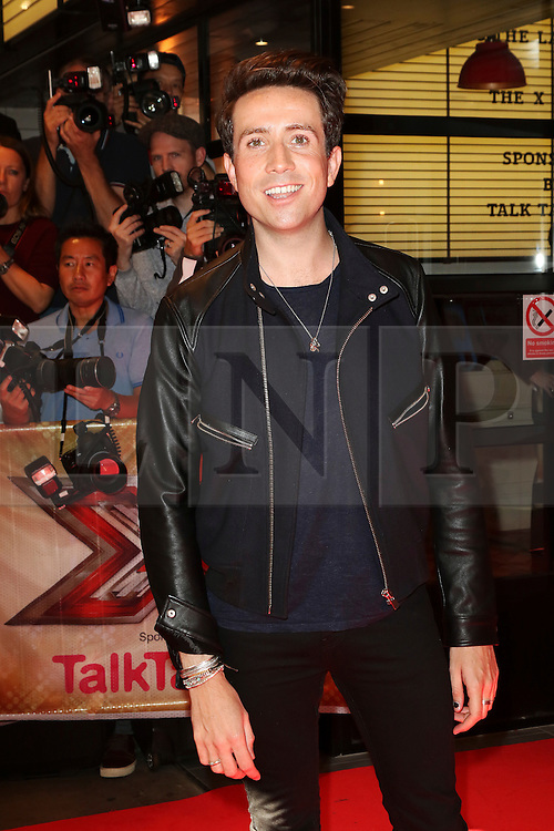 © London News Pictures. Nick Grimshaw, The X Factor - press launch, Picturehouse Central, London UK, 26 August 2015, Photo by Richard Goldschmidt /LNP