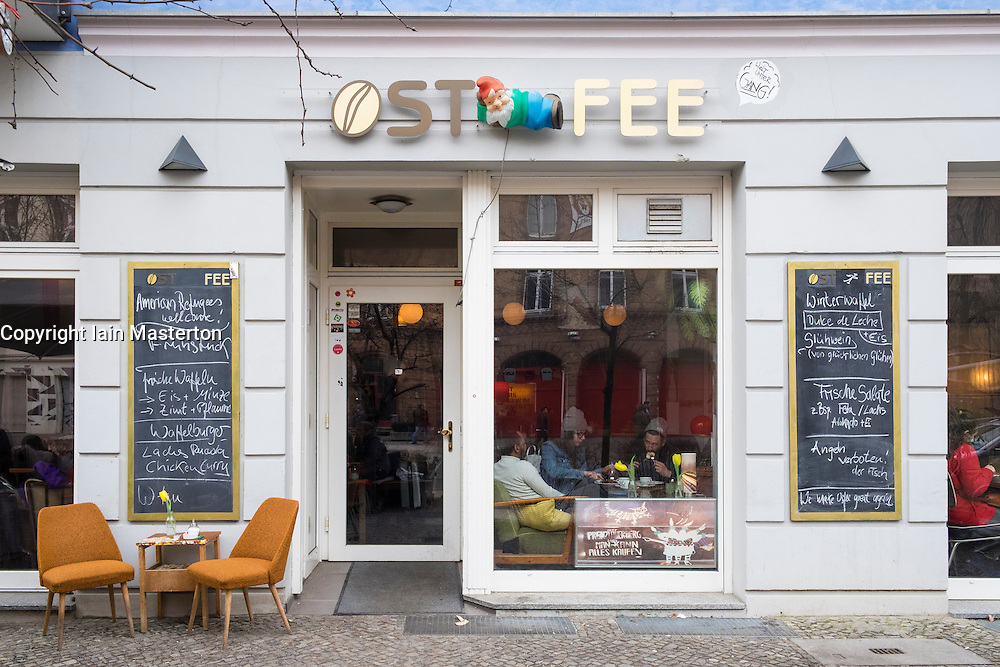 Ost Fee cafe in Prenzlauer Berg in Berlin Germany