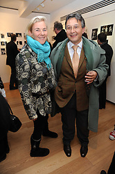 COUNTESS DORA DELLA GHERARDESCA and TOMASZ STARZEWSKI at a private view of photographs by Nick Ashley held at the Sladmore Gallery, 32 Bruton Place, London on 13th January 2010.