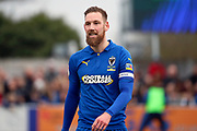 AFC Wimbledon midfielder Scott Wagstaff (7) walking off the pitch during the EFL Sky Bet League 1 match between AFC Wimbledon and Bolton Wanderers at the Cherry Red Records Stadium, Kingston, England on 7 March 2020.