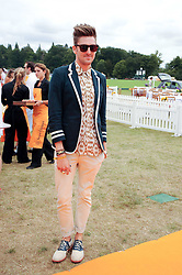 HENRY HOLLAND at the Veuve Clicquot Gold Cup polo final held at Cowdray Park, Midhurst, West Sussex on 18th July 2010.