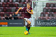 Christophe Berra (#6) of Heart of Midlothian FC during the Ladbrokes Scottish Premiership match between Heart of Midlothian FC and Livingston FC at Tynecastle Park, Edinburgh, Scotland on 4 December 2019.