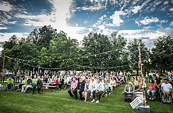 Opening of photo exhibition of Slovenian Paralympic Athletes before Rio 2016, on July 14, 2016 in Arboretum Volcji potok, Slovenia. Photo by Vid Ponikvar / Sportida