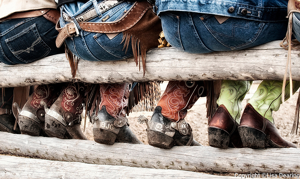 Cowgirls Boots and Spurs