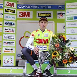 02-10-2016: Wielrennen: Olympia Tour: Margraten <br />NOORDBEEK (NED) wielrennen  <br />Cees Bol winnaar 64e Olympia Tour
