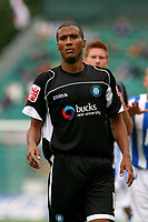 Football<br /> Coca Cola Football League One<br /> Brighton and Hove Albion vs Wycombe Wanderers at The Withdean Stadium, Brighton<br /> Wycombe's Chris Zebroski<br /> 05/09/2009<br /> Credit Colorsport / Shaun Boggust