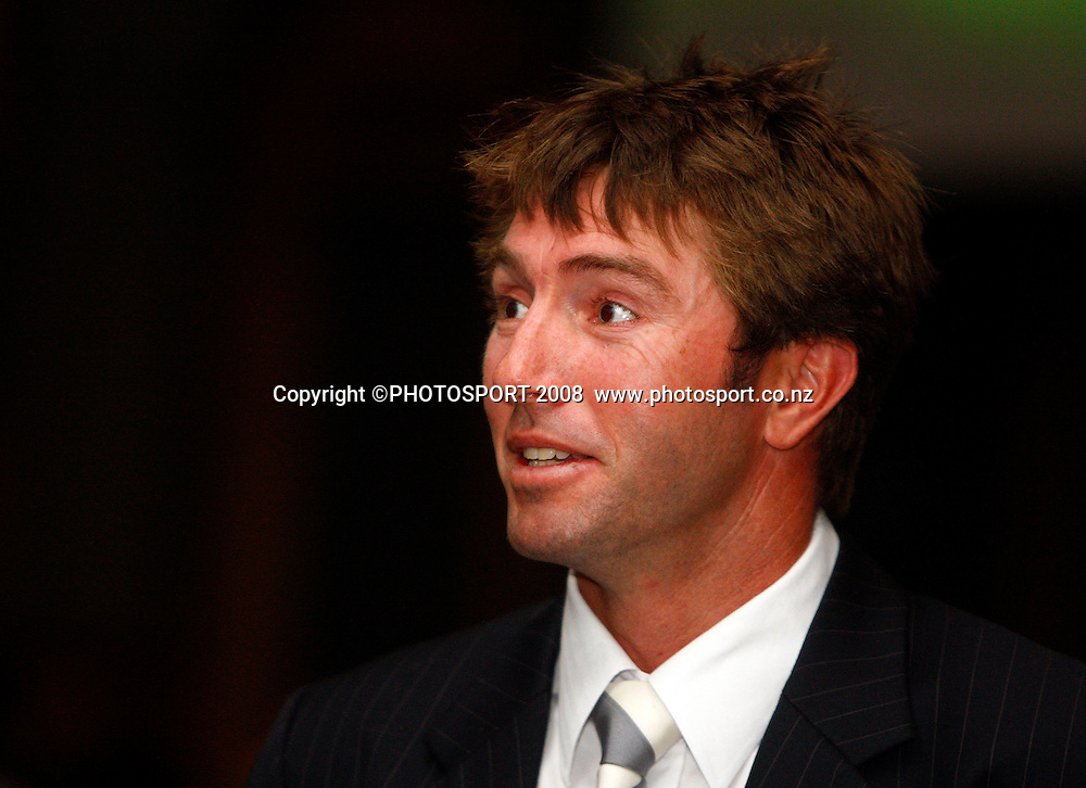 Richard Jones. Auckland Cricket Awards Evening. Eden Park, Auckland, New Zealand. Wednesday 15 April 2009. Photo: Simon Watts/PHOTOSPORT