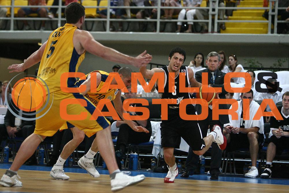 DESCRIZIONE : Cyprus Cipro Eurocup Men Final Four 2008 Final 3-4 place Proteas Eka Ael Tartu Rock<br /> GIOCATORE : George Tsintsadze<br /> SQUADRA : Tartu Rock<br /> EVENTO : Eurocup Men Final Four 2008<br /> GARA : Proteas Eka Ael Tartu Rock<br /> DATA : 20/04/2008 <br /> CATEGORIA : palleggio fallo<br /> SPORT : Pallacanestro<br /> AUTORE : Agenzia Ciamillo-Castoria/E.Castoria<br /> Galleria : Fiba Europe 2007-2008<br /> Fotonotizia : Cyprus Cipro Eurocup Men Final Four 2008 Final 3-4 place Proteas Eka Ael Tartu Rock<br /> Predefinita :