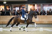 Jean Rene Luijmes - Aswin<br /> KNHS Indoorkampioenschappen 2017<br /> © DigiShots