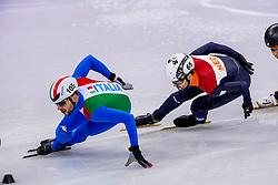 17-02-2018 KOR: Olympic Games day 8, PyeongChang<br /> 1000 m / Itzhak De Laat of the Netherlands