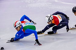 17-02-2018 KOR: Olympic Games day 8, PyeongChang<br /> 1000 m / Itzhak De Laat of the Netherlands